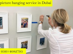 Picture hanging in Dubai